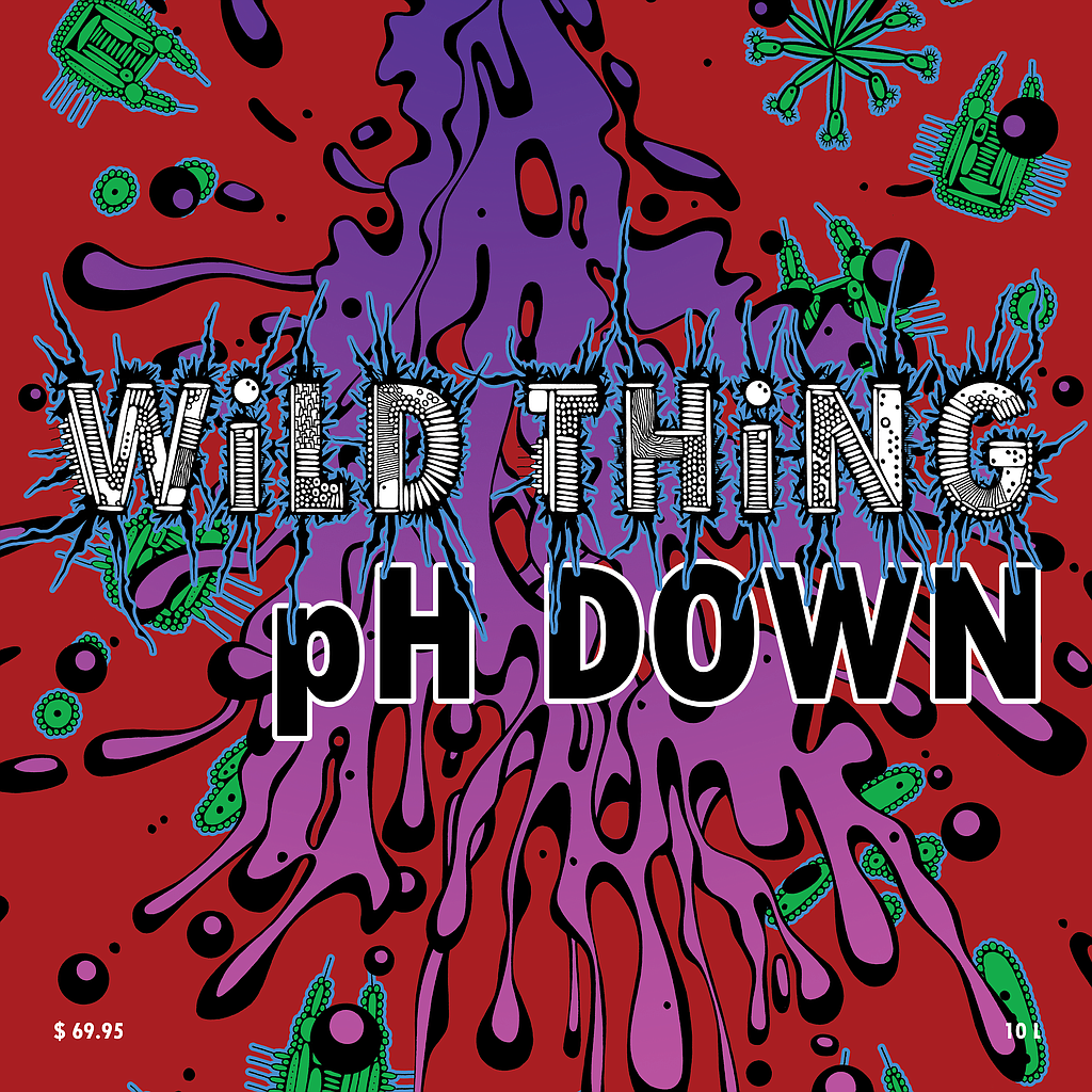 WiLD THiNG pH DOWN (Sulfuric Acid) 4L