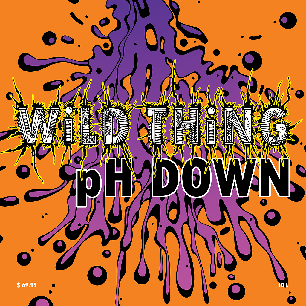 WiLD THiNG pH DOWN (Phosphoric Acid) 60L